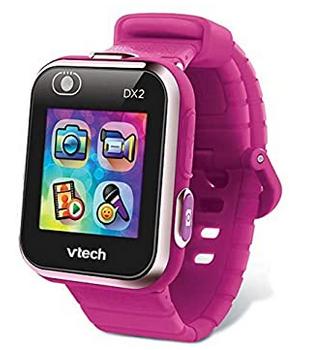 Montre Kidizoom couleur framboise avec camera frontale de Vtech