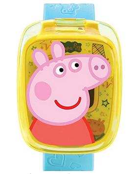 Montre Peppa Pig pour enfant de la marque Vtech