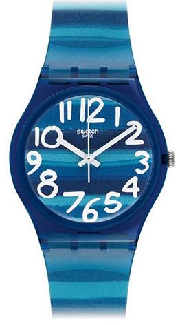 Montre bicolore pour enfant de la marque Swatch