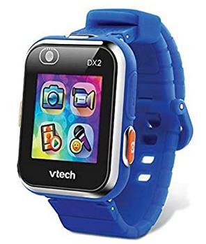 Montre bleue Kidizoom avec camera frontale signee Vtech