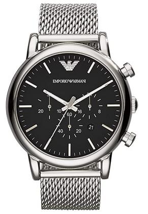 Montre chronographe pour homme signee Emporio Armani