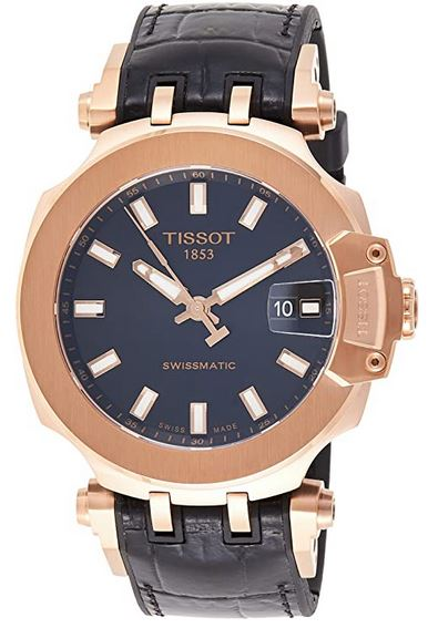 Montre homme Tissot T Race en or rouge
