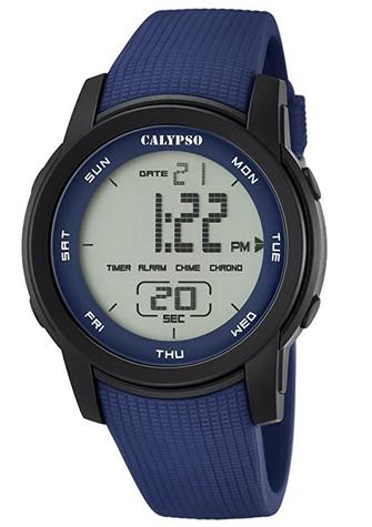Montre numerique avec ecran LCD pour homme de Calypso