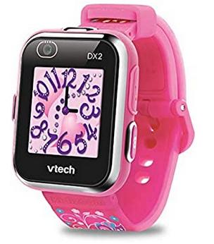 Montre rose pour enfant avec appareil photo de la marque Vtech