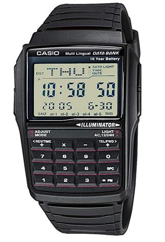 Montre sportive avec calculatrice pour garcon de la marque Casio