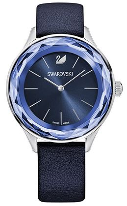 Octea Nova montre feminine Swarovski noire et bleue