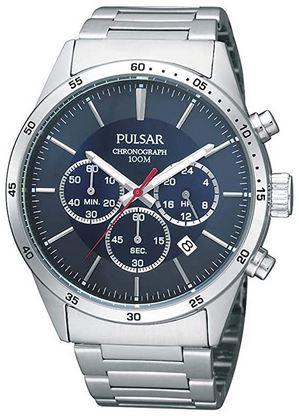 Pulsar PT3003X1 montre pour homme avec bracelet en acier inoxydable