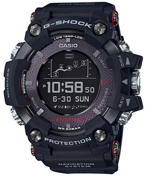 casio G shock Rangeman montre GPS pour homme