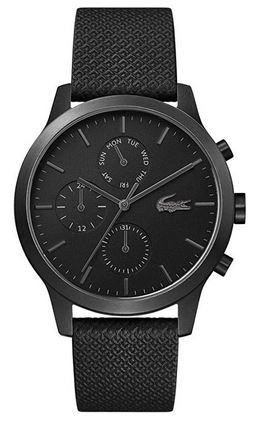 chronographe noir pour homme de Lacoste