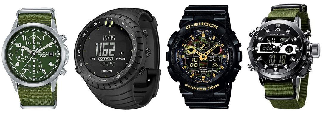 comparatif de montres militaires tactiques