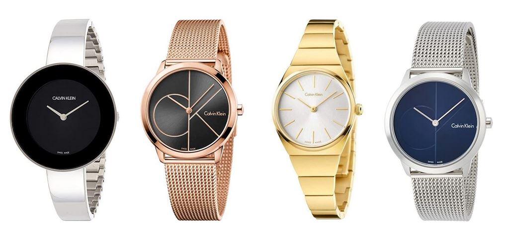 comparatif montres Calvin Klein pour femme