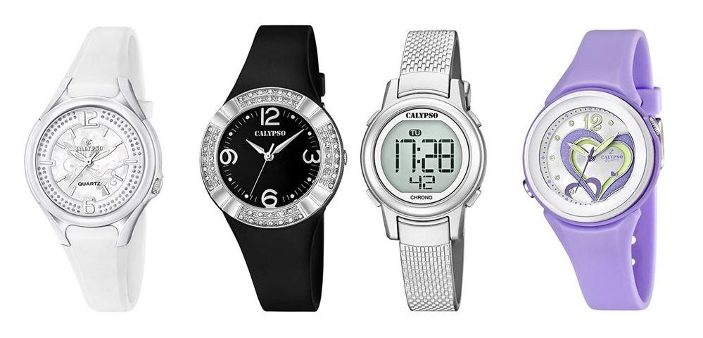 comparatif montres Calypso pour femme