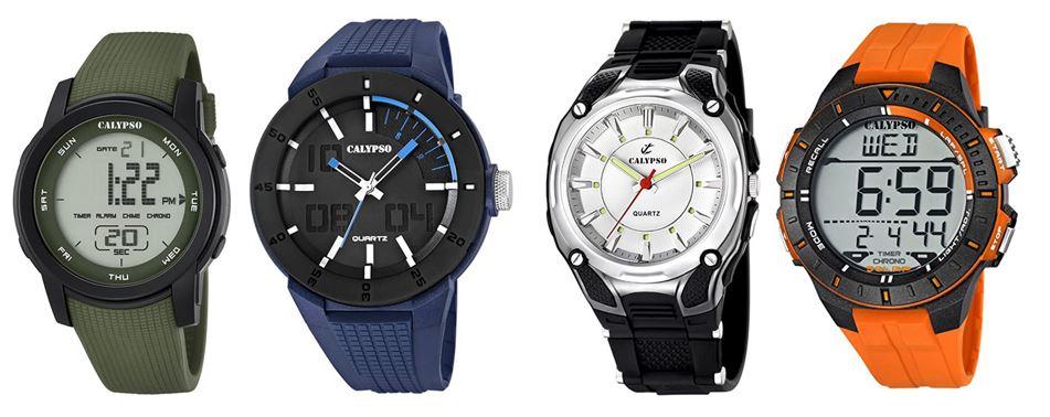 comparatif montres Calypso pour homme