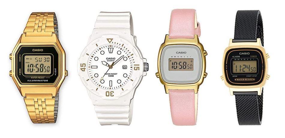 comparatif montres Casio pour femme