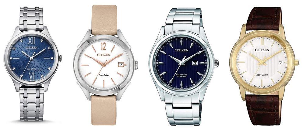 comparatif montres Citizen pour femme