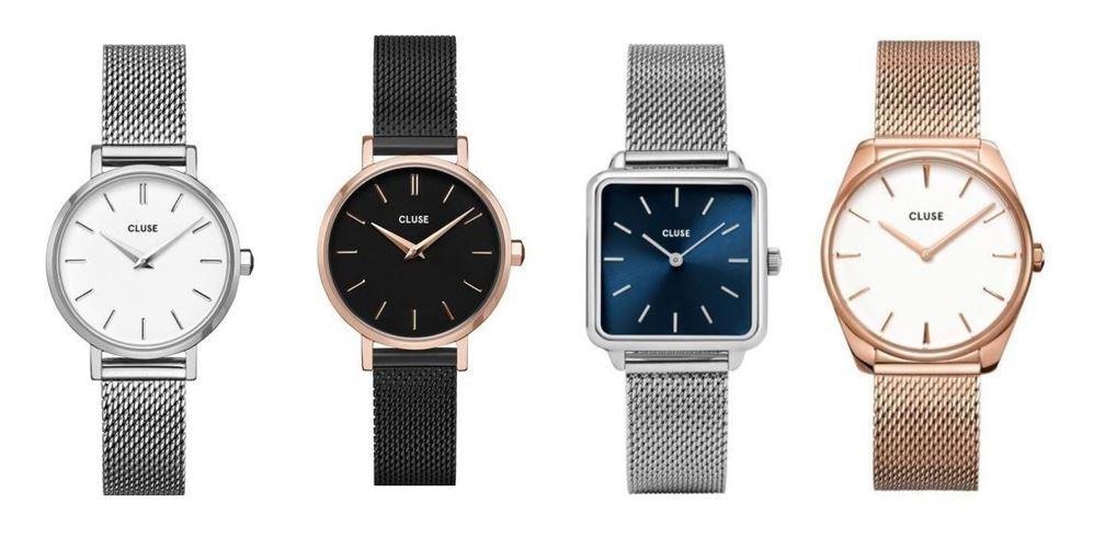 comparatif montres Cluse pour femme