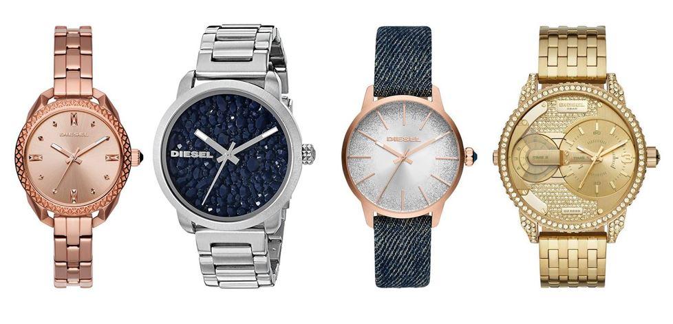 comparatif montres Diesel pour femme
