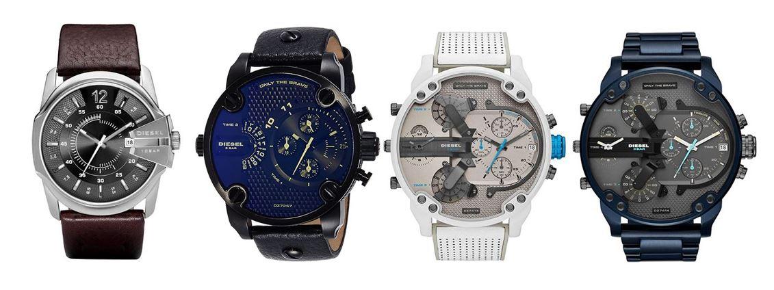 comparatif montres Diesel pour homme