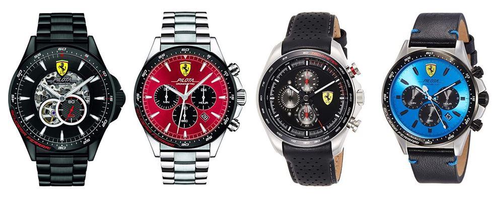 comparatif montres Ferrari pour homme