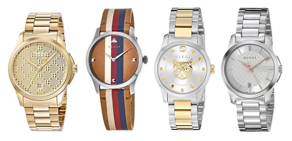 comparatif montres Gucci pour femme