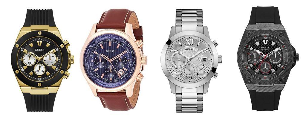 comparatif montres Guess pour homme
