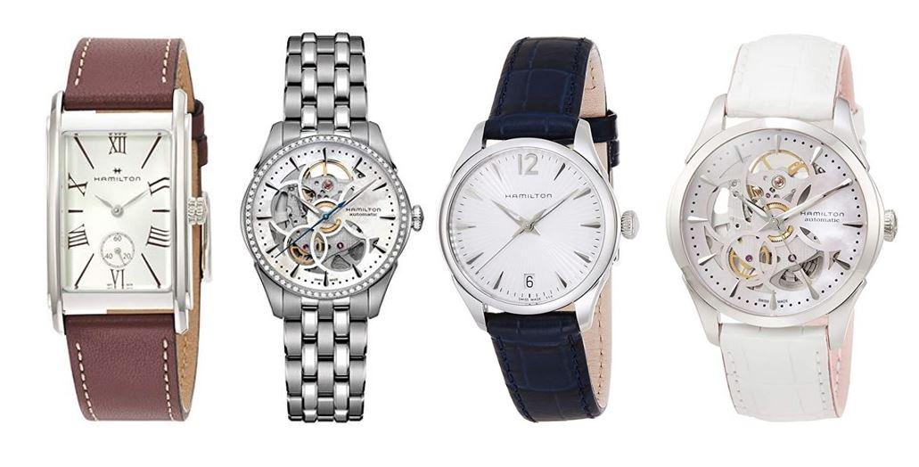 comparatif montres Hamilton pour femme