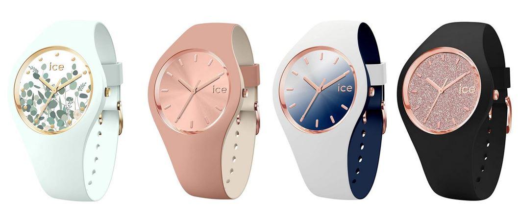comparatif montres Ice Watch pour femme
