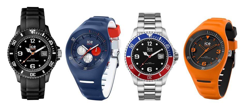 comparatif montres Ice Watch pour homme