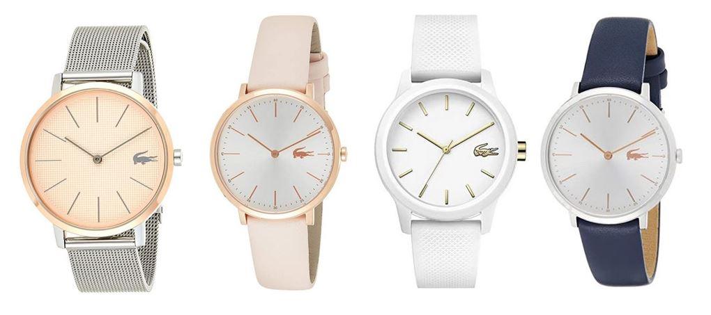 comparatif montres Lacoste pour femme