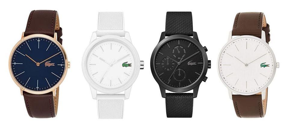 comparatif montres Lacoste pour homme
