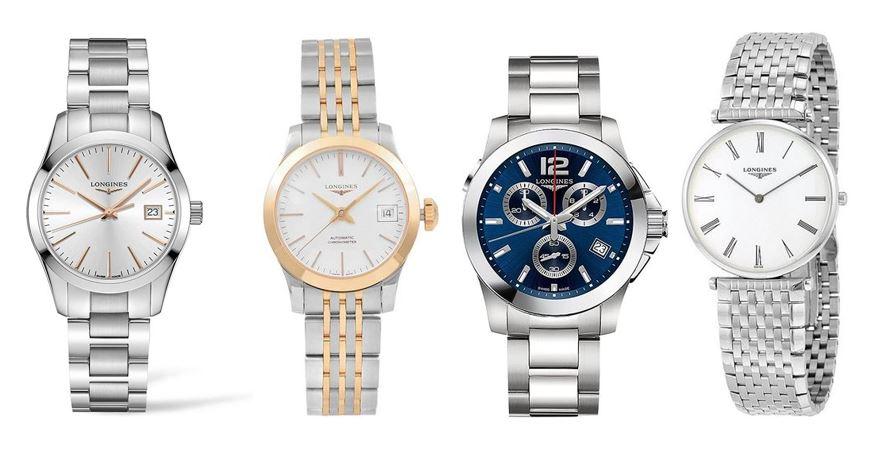 comparatif montres Longines pour femme