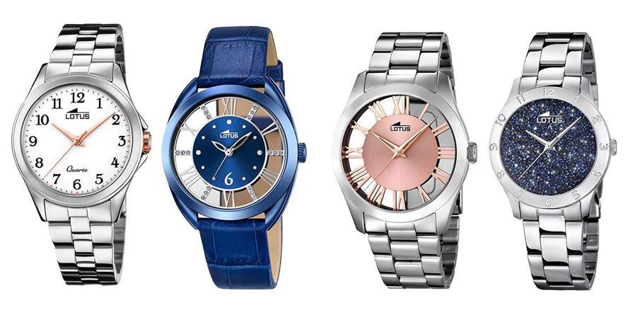 comparatif montres Lotus pour femme