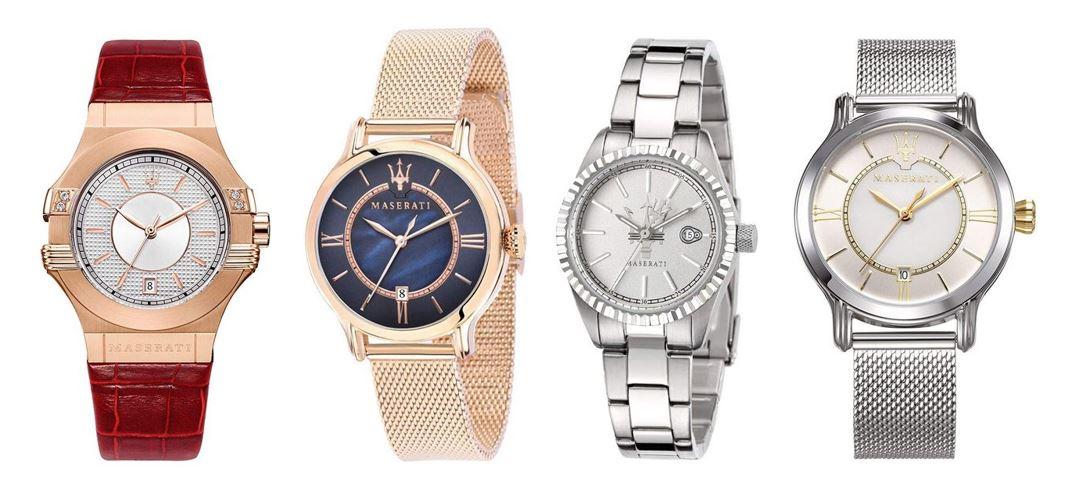 comparatif montres Maserati pour femme