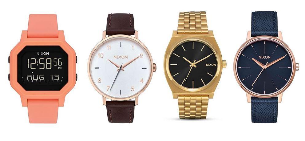 comparatif montres Nixon pour femme