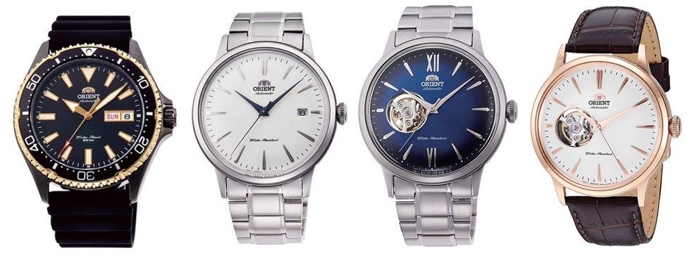 comparatif montres Orient homme