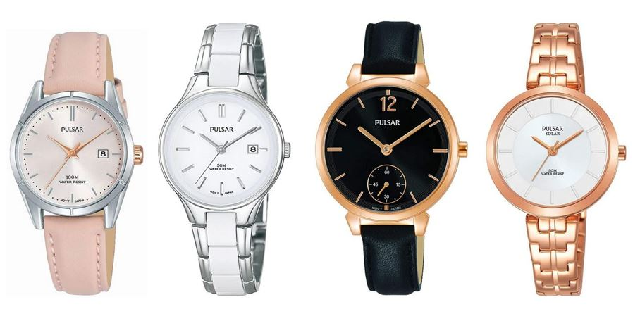 comparatif montres Pulsar pour femme
