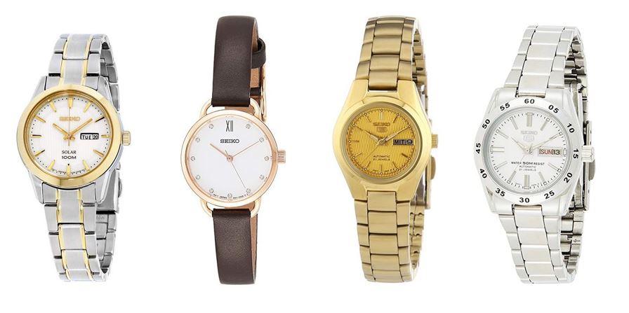comparatif montres Seiko pour femme