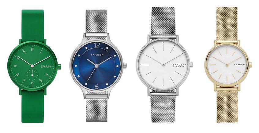 comparatif montres Skagen pour femme