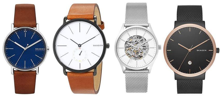 comparatif montres Skagen pour homme