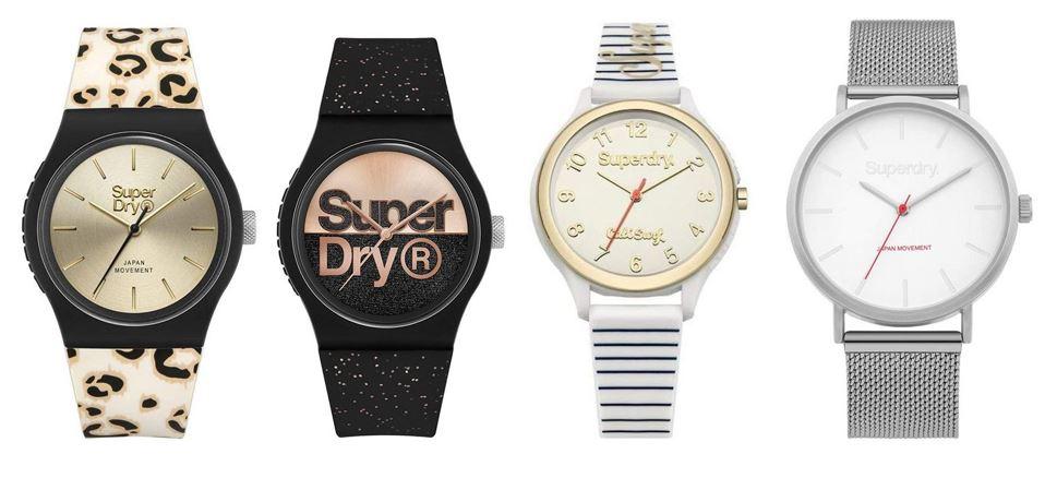 comparatif montres Superdry pour femme