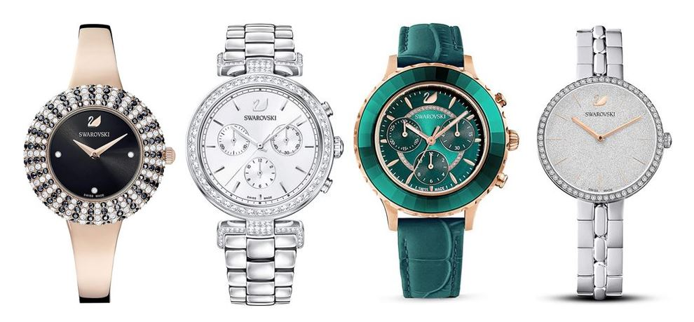 comparatif montres Swarovski pour femme