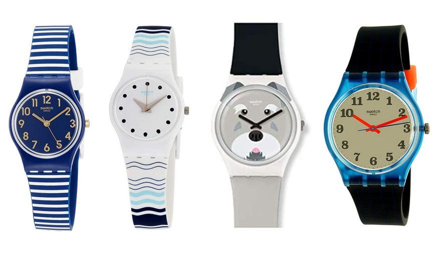 comparatif montres Swatch pour enfant