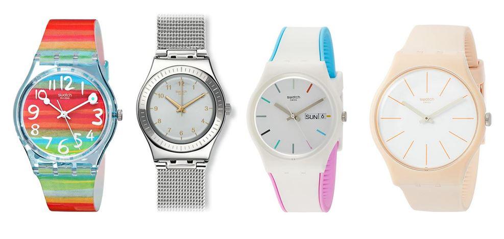 comparatif montres Swatch pour femme