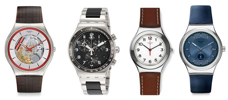 comparatif montres Swatch pour homme 1