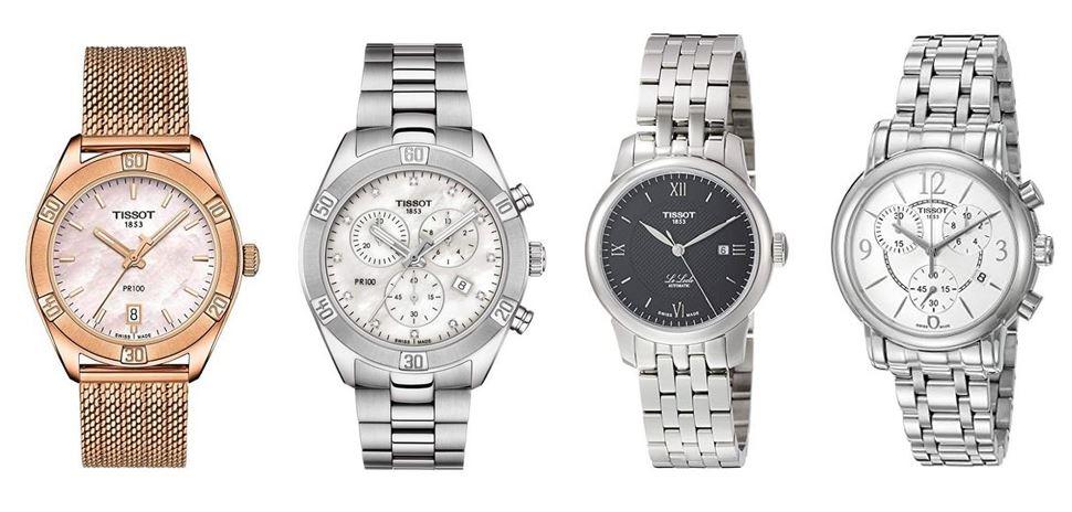 comparatif montres Tissot pour femme