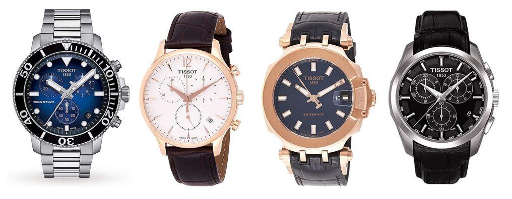 comparatif montres Tissot pour homme