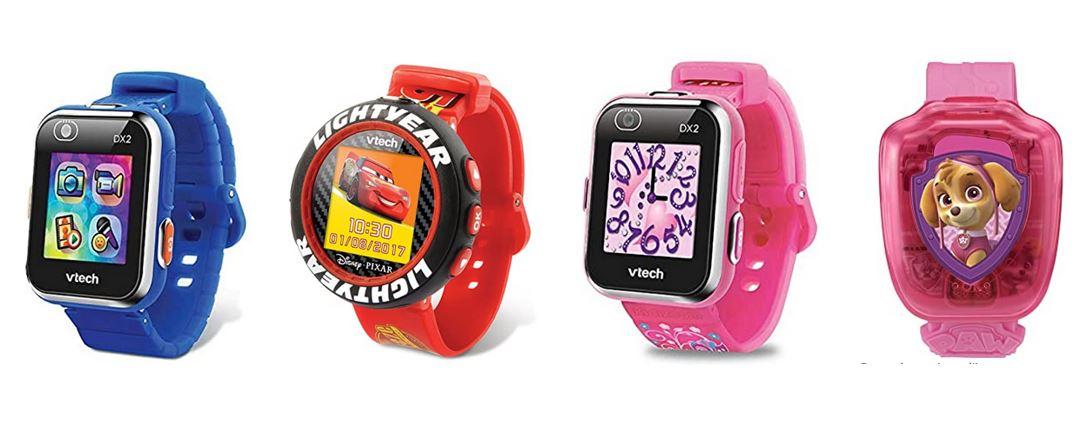comparatif montres Vtech pour enfant