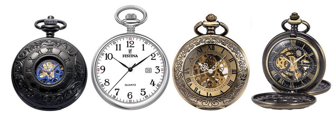 comparatif montres a gousset pour homme