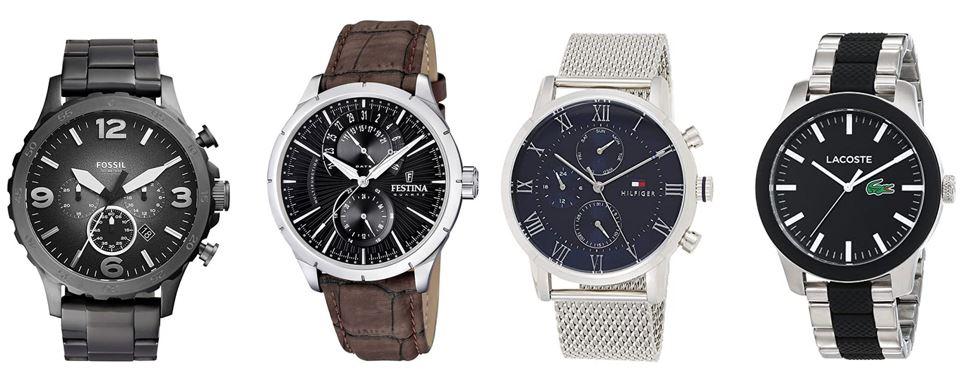 comparatif montres a quartz homme