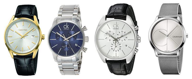 comparatif montres calvin klein pour homme